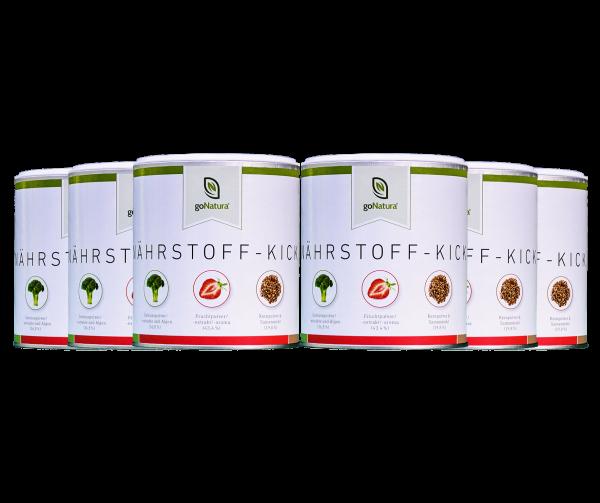6 Dosen Nährstoff-Kick