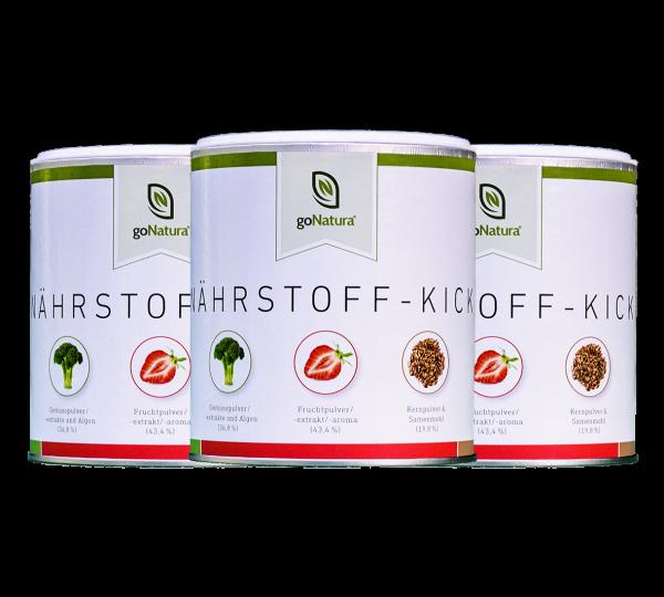 3 Dosen Nährstoff-Kick